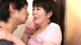 Hot Japanese milf gets anal