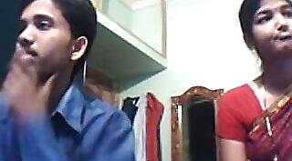 Chubby Indian Couple On Webcam