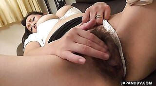 Japanese mature with orgasm