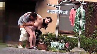Big Tit asian milf fun with young cock