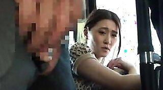 Blowjob in public bus Raw movie grasps officer ravaging a deadbeat