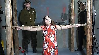 chinese students engaged in BDSM session