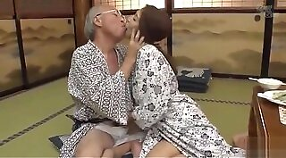 Horny Asian MILF with Round Tits fucked