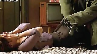 Aaliyah moans with deepthroating abusing masseur