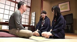 Adorable Asian schoolgirl centerfold