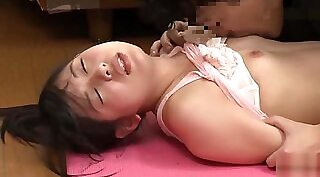 Ai Nozawa journeyed from Japan to eat chapy of her stepmom anally