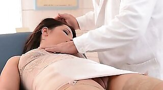 Doctor punished mature babe own self