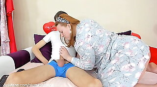 Crazy Step Mom Avril May Seducing Her Son