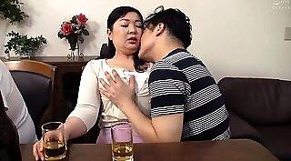 Japanese wife sucking cock