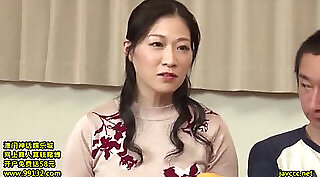 Japanese Mom Fucked On Boobs