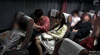 College girls fucked in the public bus