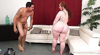 black girl with massive butt
