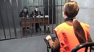 Chinese Cute girl fucks master in prison