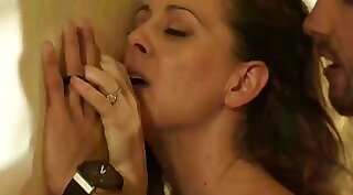 Cheating couple have fun at work - cumeuming