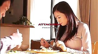 Buxom Asian TS spreads her legs