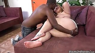 Black Guy Allowed Hot Fat Cock In Cunt